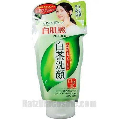 SHIROCHASOU Face Wash Foam (2011 version)