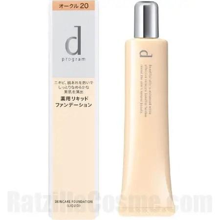 d program Medicated Skincare Foundation (Liquid)