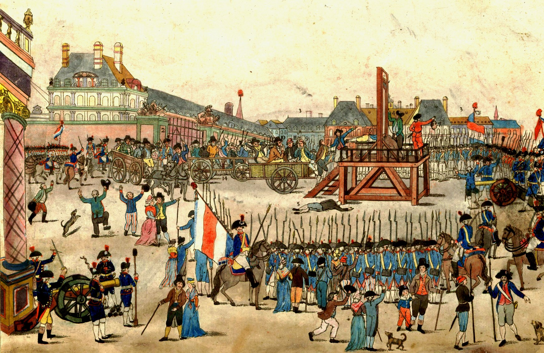 Execution robespierre saint just