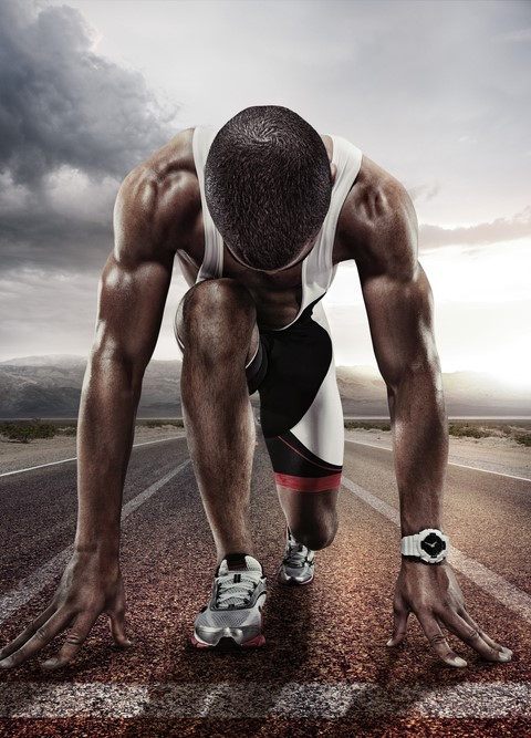 raudanpuute ja urheilija pysty