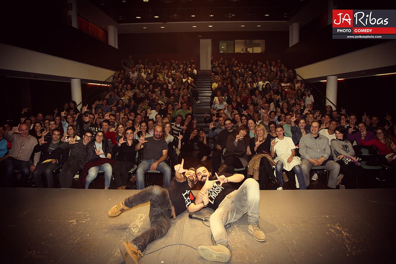 Fem L'Humor - Hospitalet - Raul Alcaraz cómico - monologuista - actor -Final Público FLH3