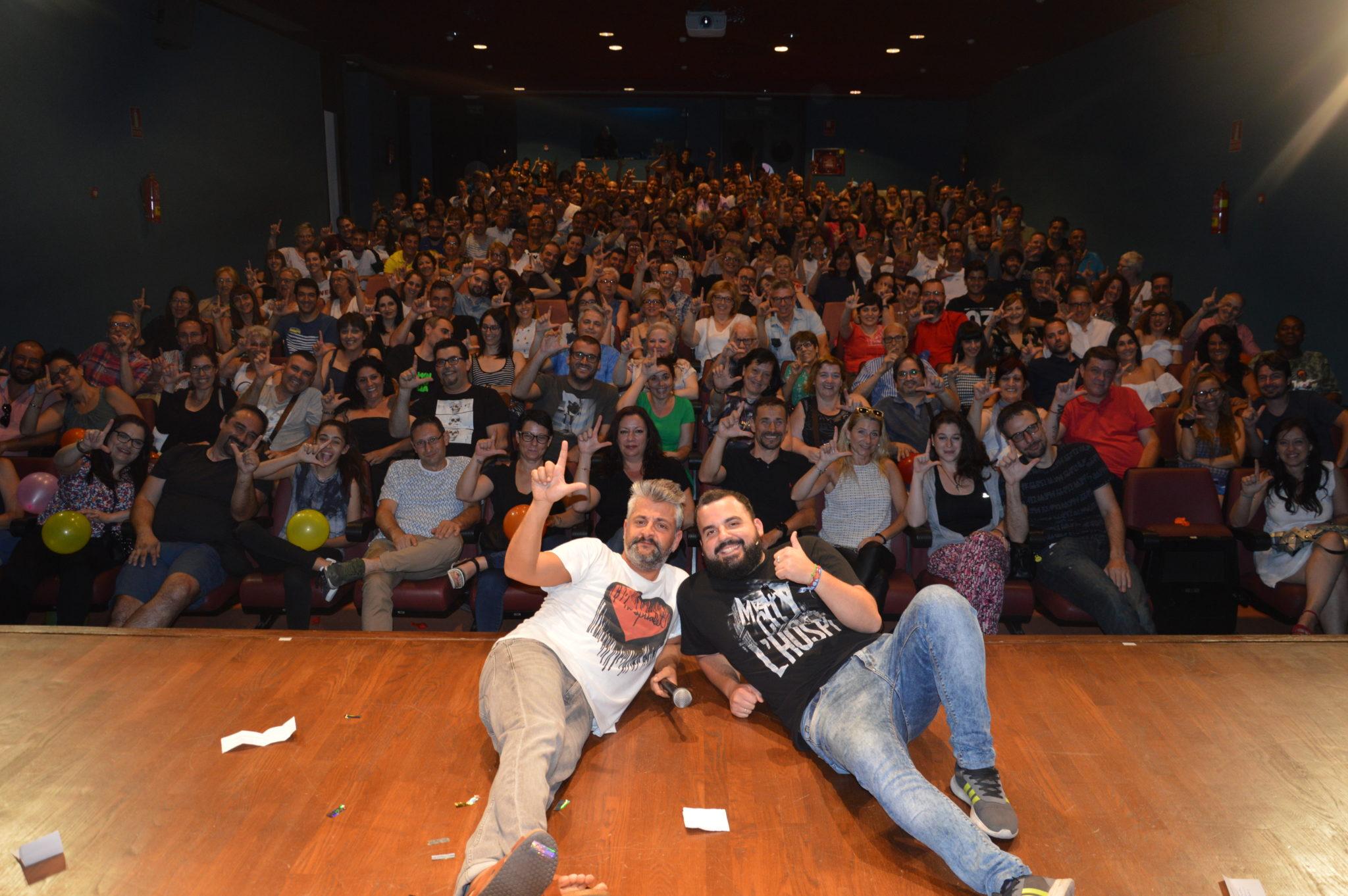 Fem L'Humor - Hospitalet - Raul Alcaraz cómico - monologuista - actor -Final Público FLH8