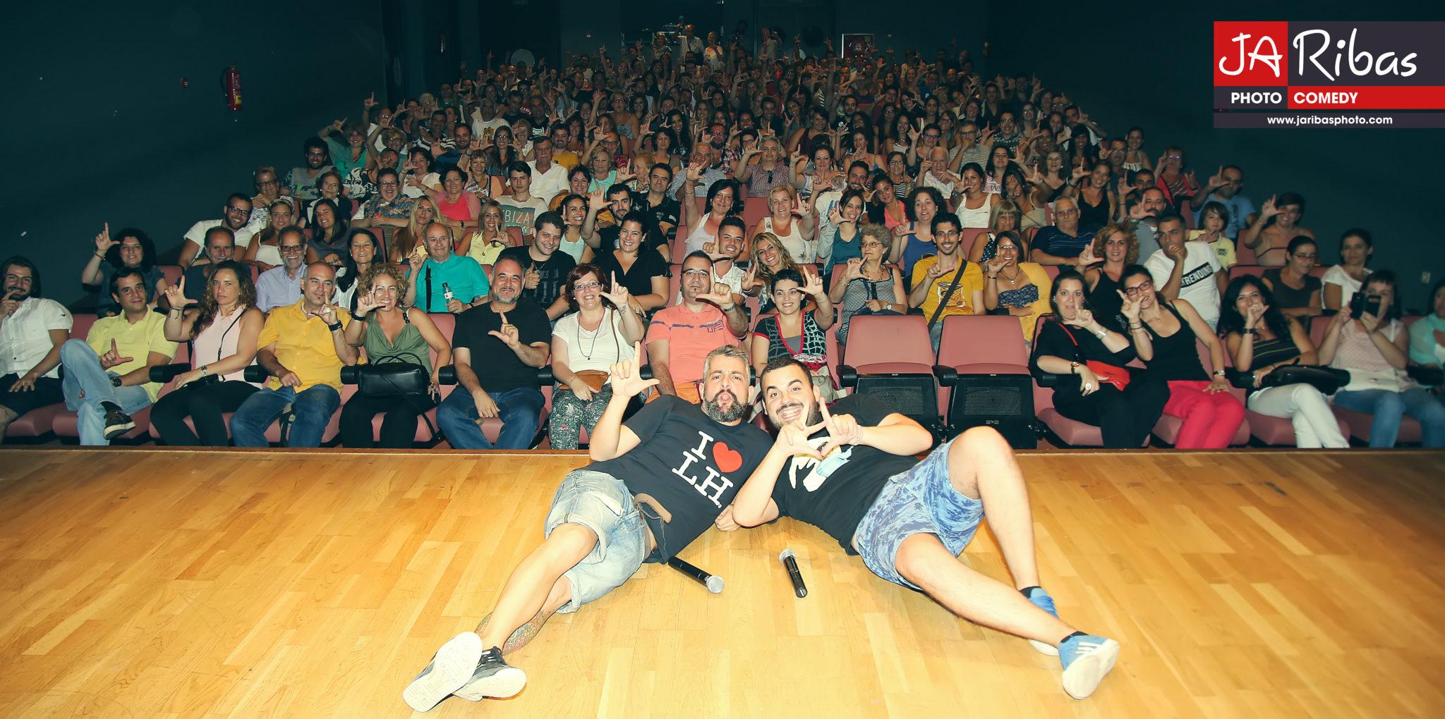 Fem L'Humor - Hospitalet - Raul Alcaraz cómico - monologuista - actor -Final público FLH2