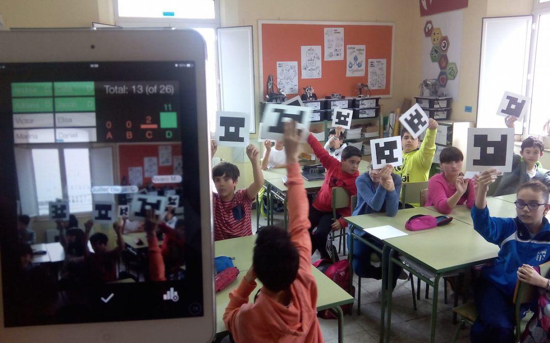 Analiza lo que saben tus alumnos con Plickers