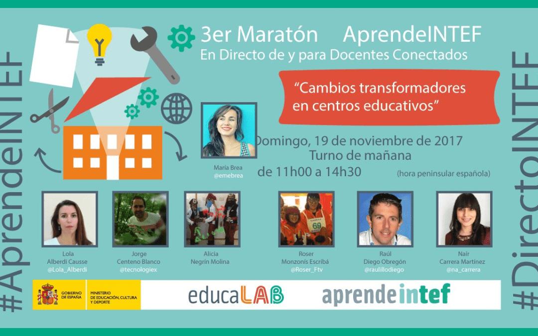 Tercer maratón #AprendeINTEF