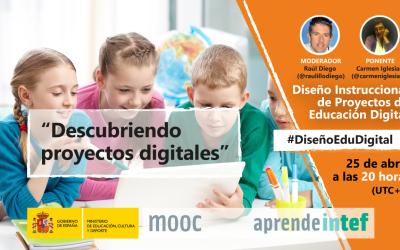 """Directo INTEF """"Descubriendo Proyectos Digitales"""""""