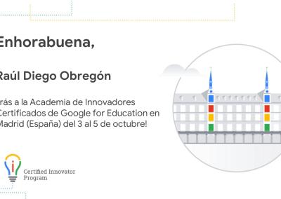 3 al 5 de Octubre – Google España
