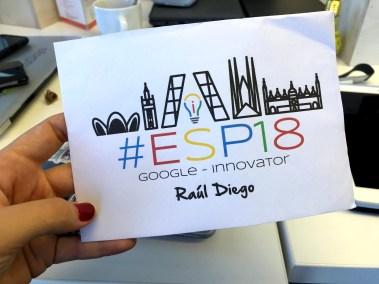 Google Certified Innovator #ESP18