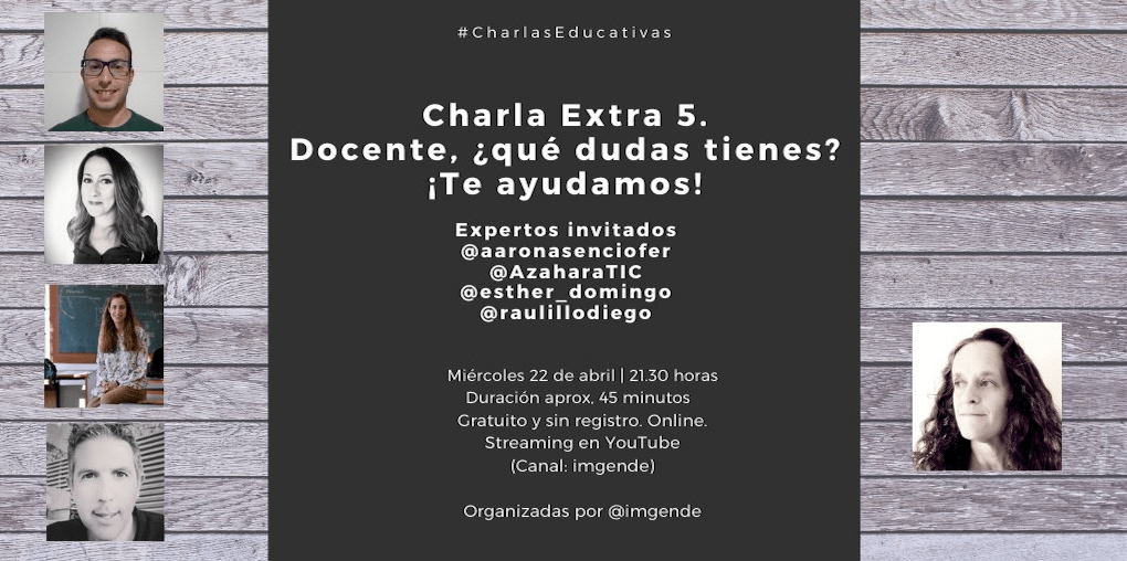22 de Abril de 2020 – Charlas Educativas