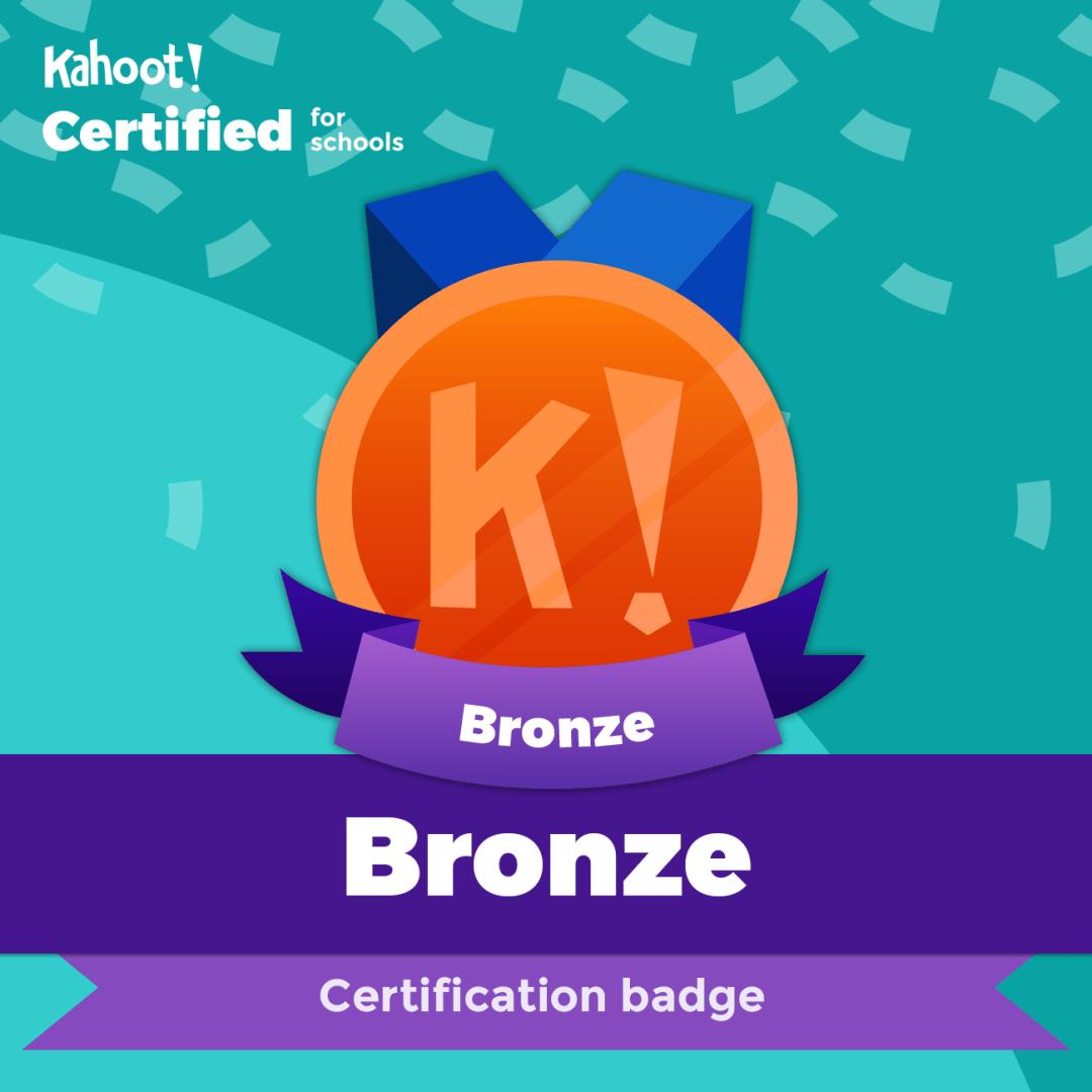 Kahoot Certified – Bronze