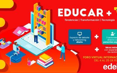 Foro Virtual Internacional – Educar + T3