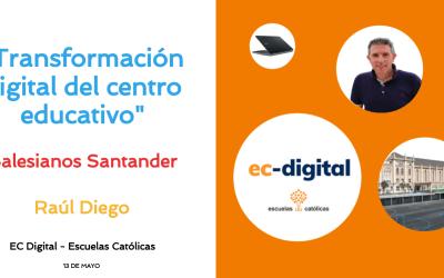 """Ponencia """"Transformación digital de centros"""""""