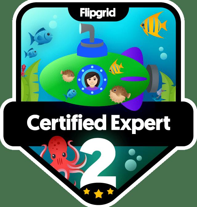 Flipgrid Certified Educator – Level 2