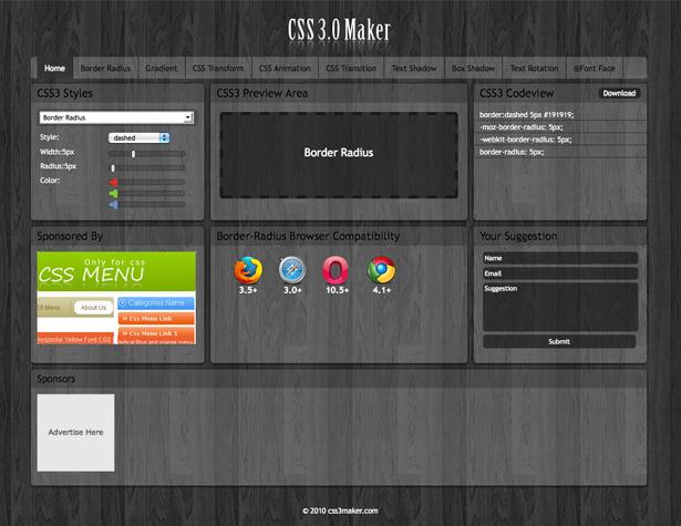 CSS Maker 3.0