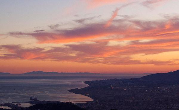 Ver África desde Málaga