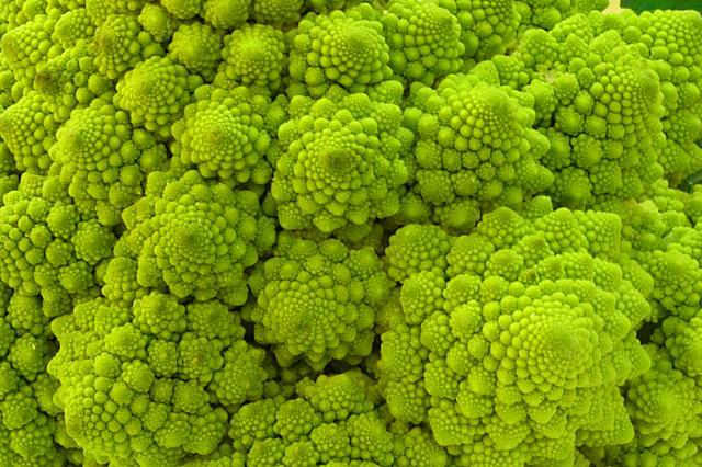 Comida fractal.