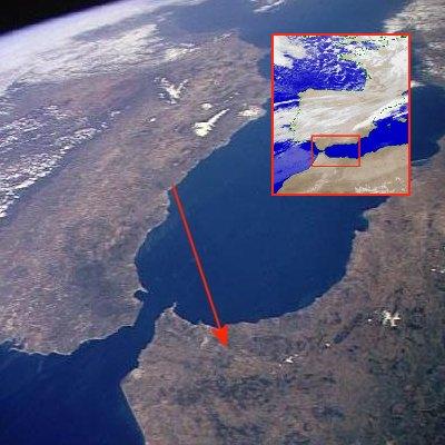 Ver Africa desde Málaga...