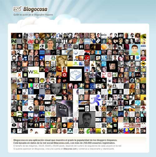 Blogocosa, las caras de la blogosfera de habla hispana