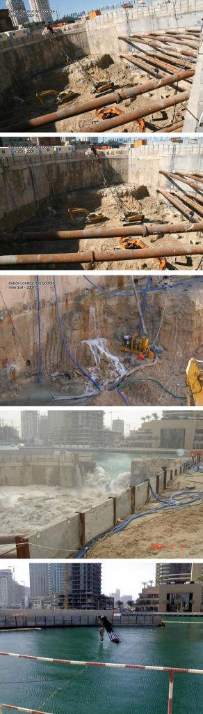 Accidente en unas obras de Dubai