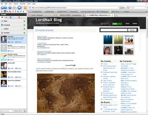 Flock 1.0, el navegador con soporte a redes sociales