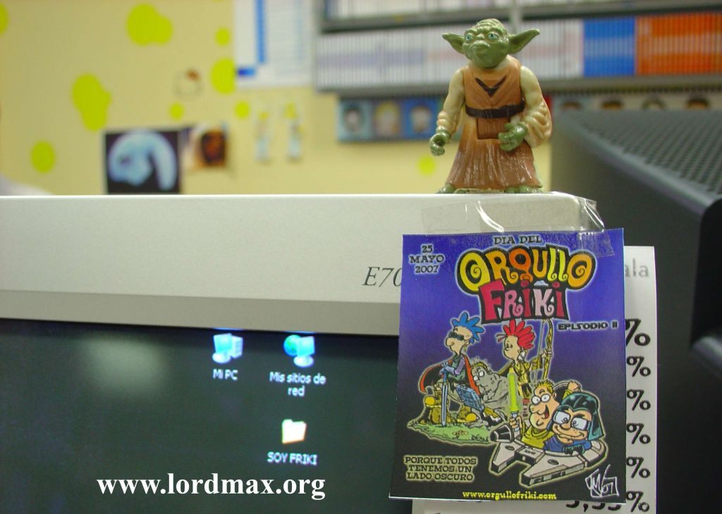 Feliz día del Orgullo Friki y felicidades Star Wars