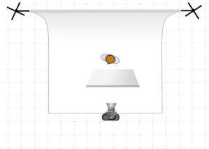 Ilumina tu foto de perfil profesional fácilmente con este diagrama de iluminación para luz frontal elevada