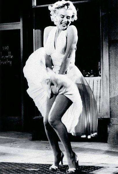 Imagen icónica de la actriz Marilyn Monroe que contribuyó como ninguna a crear su marca personal