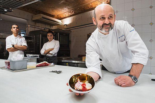 Fotografía Personal Branding para el Chef repostero Eric Ortuño de la escuela de hostelería Hofmann
