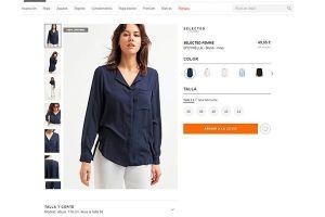 Zalando es un buen ejemplo de la variedad de fotos necesaria para ofrecer una buena experiencia de usuario y propiciar las ventas en tu tienda online
