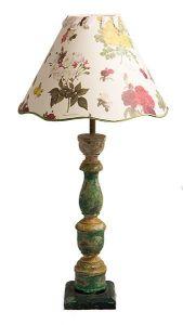 Fotografía de producto de una lámpara para la tienda online de la diseñadora
