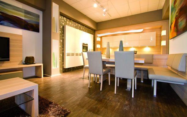 Pronto Design Brauneiche geräuchert Wohnhaus 14