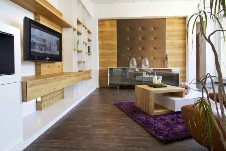 Pronto Design Brauneiche geräuchert Wohnhaus 2