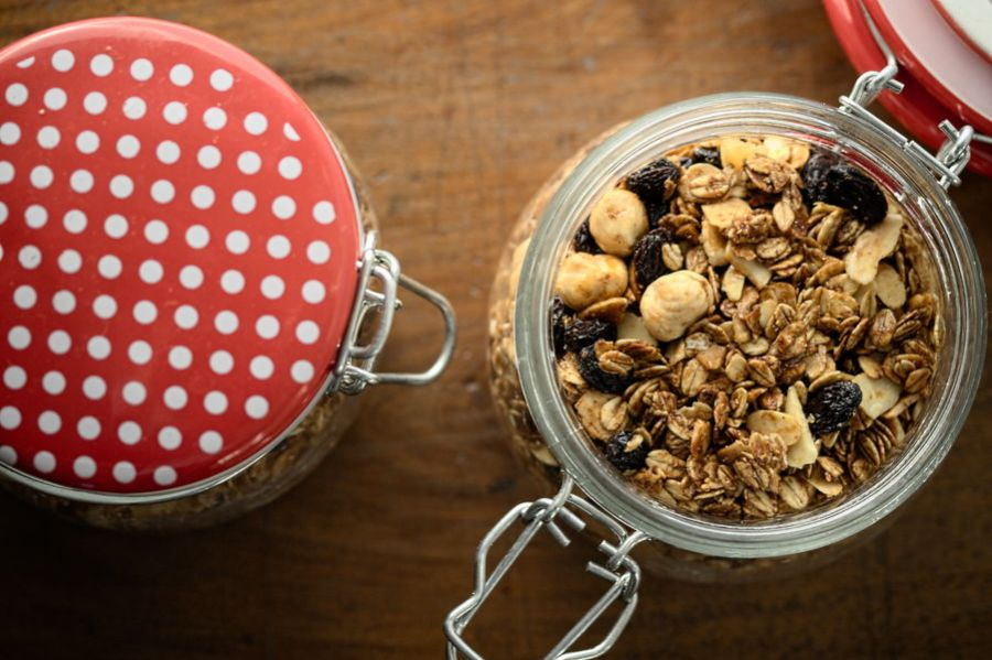 Muesli fatto in casa o granola homemade