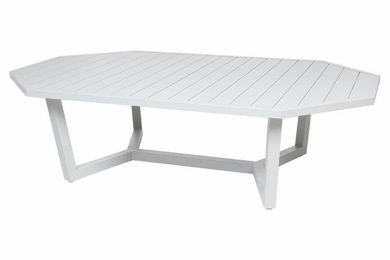 table olympe octogonale 10 places galet