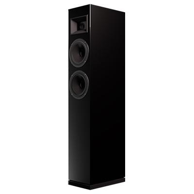 CeLest' Tower Speaker Angled View