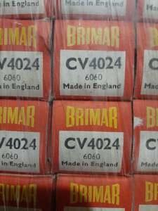 Brimar CV4024 6060 Black Plate Yellow T's ~ !!!