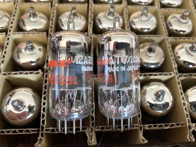 Amperex ECC81 12AT7 Japan Mullard Machines b
