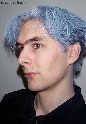 ravenblack white hair