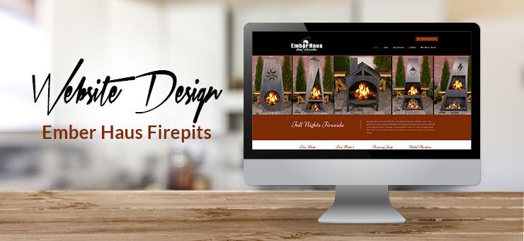 Ember Haus Website Design