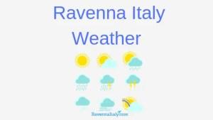 Ravenna italy Weather
