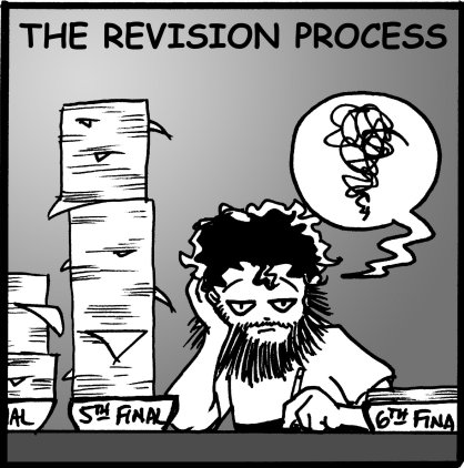 The Revision Process according to Patrick Rothfuss