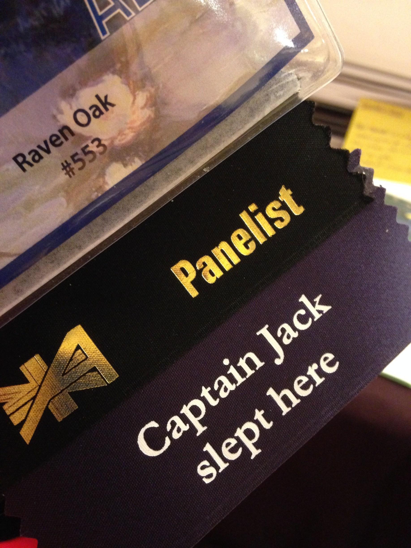Raven Oak Panelist sticker