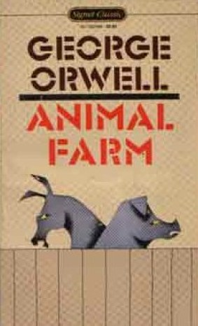 Book Cover Throwback Animal Farm Raven Oak