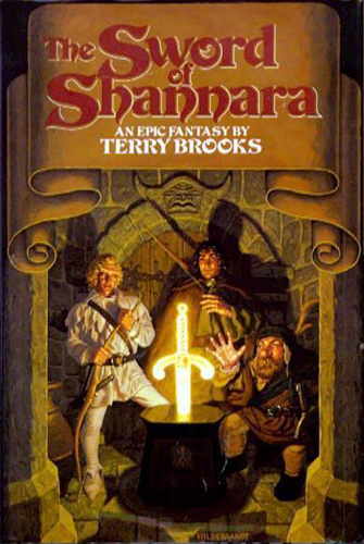 Book Cover Throwback: The Sword of Shannara