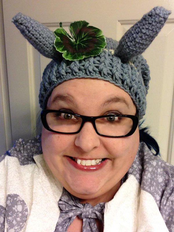 Me cosplaying as Totoro