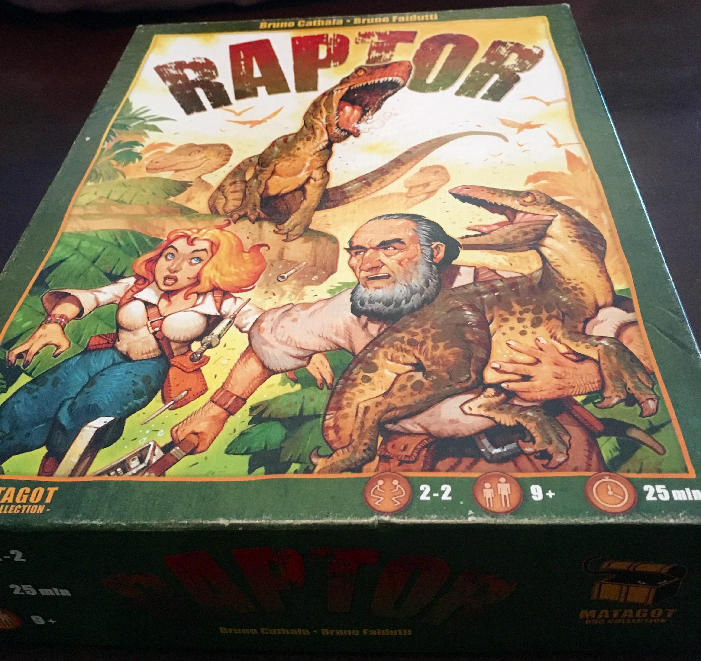 Monday Night Gaming: Raptor Game Review