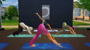 The Sims 4 Revisited Yoga