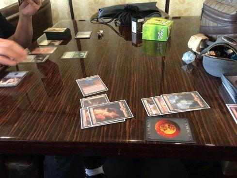 Playing Magic the Gathering