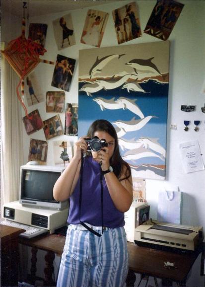Me, age 14