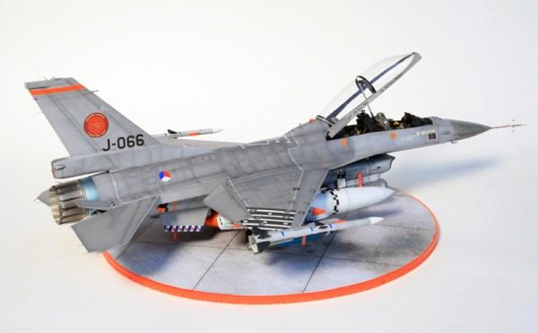 Red Dog's models: Kinetic vs Hasegawa vs Tamiya F-16 1/48